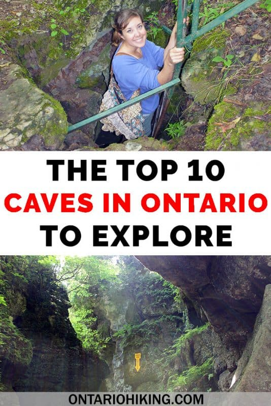 Enjoy taking your hiking underground? Here are the top 10 caves in Ontario that you need to explore! #Ontario #Hiking #Canada #Caves #Travel