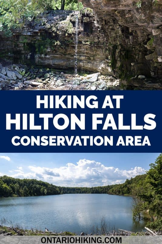 Hilton Falls Conservation Area features a beautiful waterfall at the end of the Hilton Falls Trail. However, there are several hiking trails to explore, and there's even a spot that I love more than the waterfall! Here's your guide to hiking at Hilton Falls in Milton, Ontario. #HiltonFalls #Milton #Ontario #Canada #Hiking #Waterfall