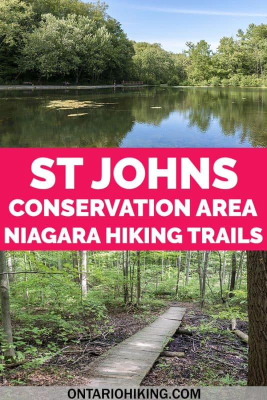 St Johns Conservation Area is one of the best places to go hiking in the Niagara region, Ontario, Canada. There are several enchanting hiking trails that you'll love. Here's how you can plan your visit.