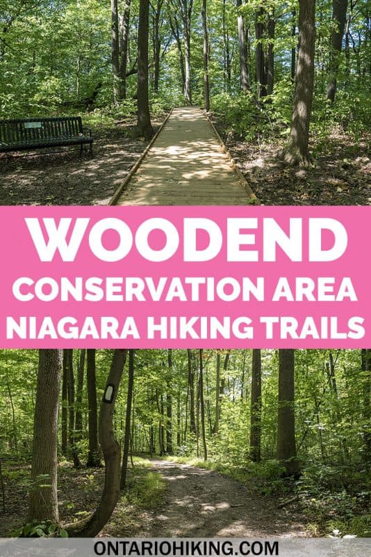 Woodend Conservation Area is a fantastic place to hike in Niagara Falls, Ontario. It's part of the Bruce Trail in the Niagara Region. Here's how to go hiking at Woodend, Niagara.