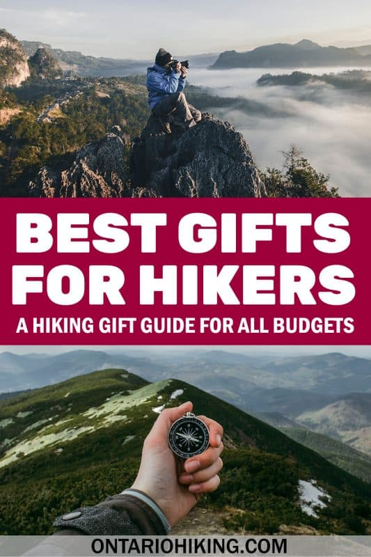 Looking for gift ideas for hikers? Here's the ultimate hiking gift guide, just in time for the holidays. These are the best gifts for hikers for every budget.