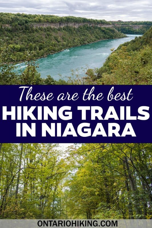 These are the most amazing Niagara hiking trails that you must explore. The best places to go hiking near Niagara Falls, Ontario.