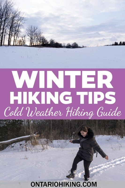 These winter hiking tips will help you stay safe while hitting the trails in the cold weather months. This is the best winter hiking gear, clothing, winter hiking boots, and everything you need to know about hiking in the winter.