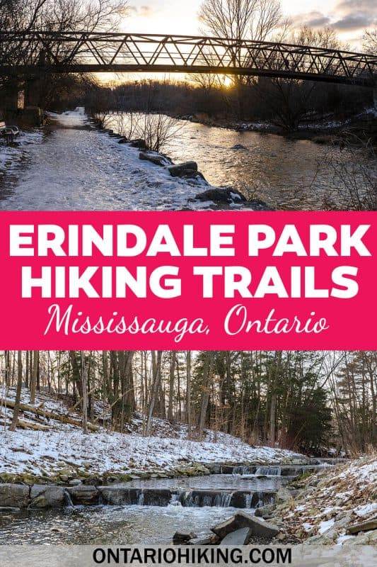 Erindale Park in Mississauga is the great starting point for several hiking trails in Mississauga. Let me show you how you can explore the Culham Trail, the UTM Nature Trail, the Sawmill Creek Trail and more!