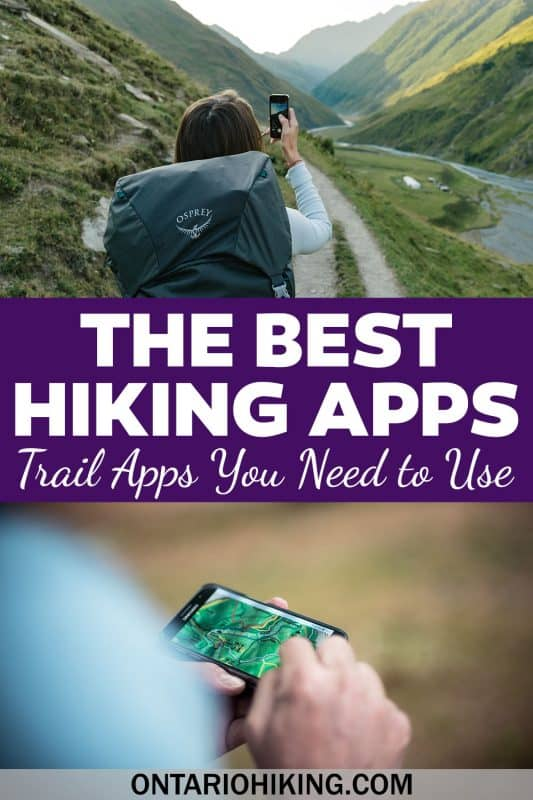 These are the best hiking apps to take along with you on the trails. Download these trekking apps on iPhone or Android. Some of them are free hiking apps, too!