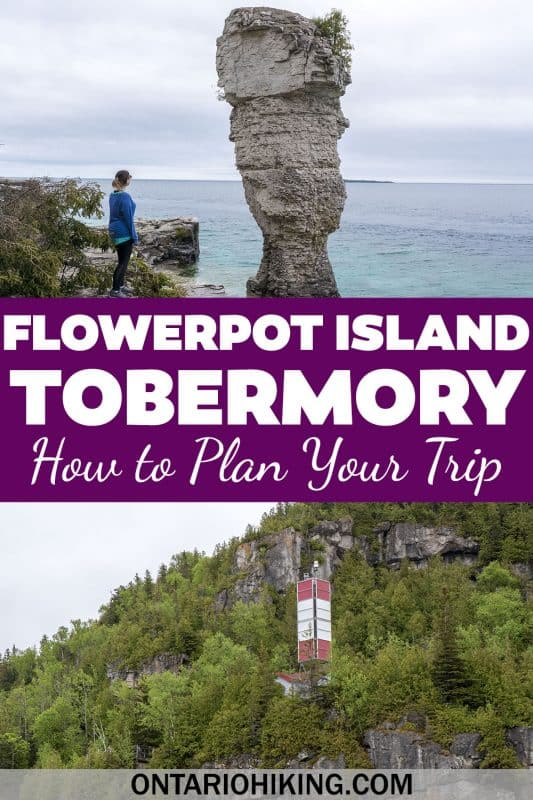Flowerpot Island near Tobermory, Ontario is a natural wonder you need to see. I'll show you how to get to Flowerpot Island, how to go hiking there, the best things to do, and more.