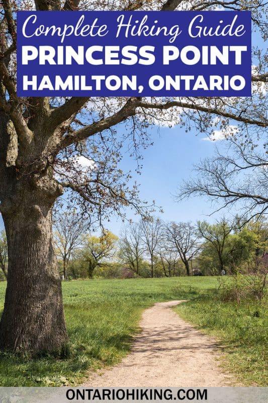 The hiking trails at Princess Point in Hamilton are amazing! There are scenic boardwalks through the forest and gorgeous views all around. This is one of the best hikes in Hamilton, Ontario.