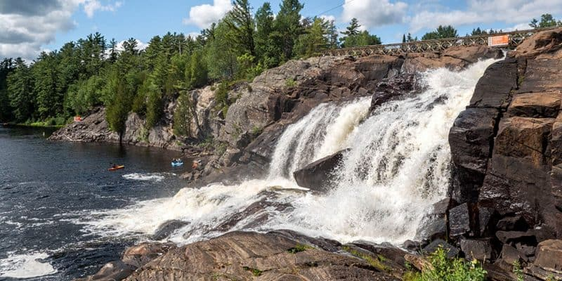 Bracebridge Waterfalls