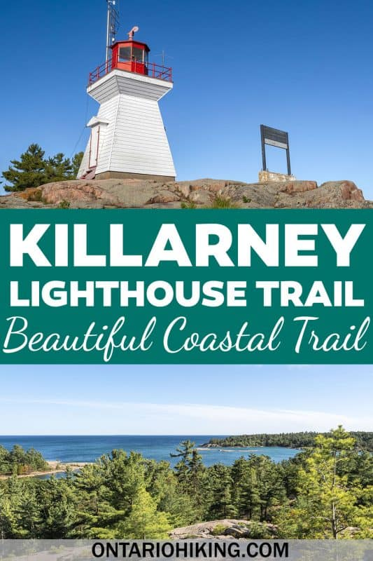 The Killarney Lighthouse Trail is a beautiful coastal walk across pink granite rocks and beside the Killarney Channel. You'll hike towards a pretty lighthouse and enjoy beautiful views wherever you look.