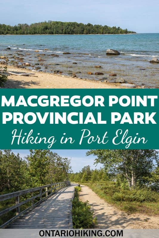Macgregor Point Provincial Park has an incredible biodiversity and it's an amazing place to go hiking and camping in Ontario. Located near Port Elgin, you can walk along 7km of shoreline on Lake Huron, and there are also brilliant wetlands with a great variety of wildlife.